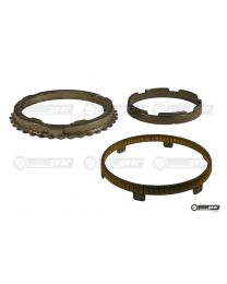 Ford Escort MT75 Gearbox 3 Part Synchro Ring Set