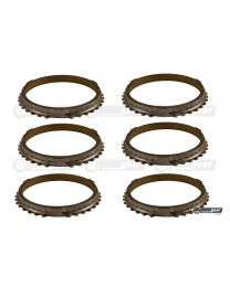 Ford Escort MT75 Gearbox Complete Synchro Ring Set Steel