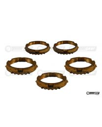 Ford Fiesta BC Gearbox Complete Synchro Ring Set (Early)