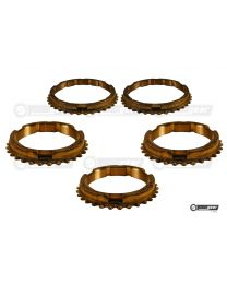 Ford Fiesta BC Gearbox Complete Synchro Ring Set (Late)