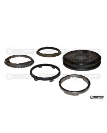 Renault Master PF6 Gearbox 3rd 4th Gear Hub Synchro Ring Set