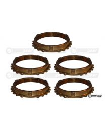 Renault Scentic JB3 Gearbox Complete Synchro Ring Set