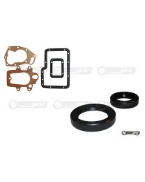 Triumph Dolomite 1850 Single Rail Non Overdrive Gearbox Gasket and Oil Seal Set