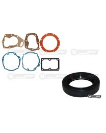 Triumph Dolomite 1850 Single Rail Gearbox Overdrive J Type Gasket Set and Oil Seal