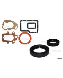 Triumph Dolomite 1850 Single Rail Overdrive Gearbox Gasket and Oil Seal Set