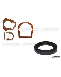 Triumph TR2 TR3 3 Synchro Gearbox A Type Overdrive Gasket Set and Rear Oil Seal