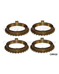 Triumph TR3 TR4 4 Synchro Gearbox Synchro Baulking Ring Set