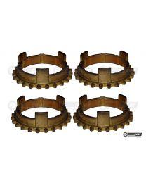 Triumph TR7 4 Speed Gearbox Synchro Baulking Ring Set
