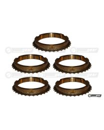 Triumph TR7 LT77 Gearbox Complete Synchro Ring Set